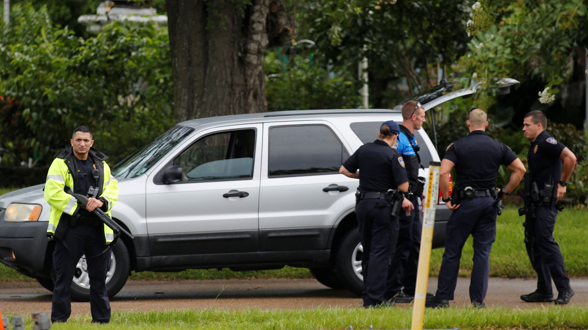 Dos oficiales fueron atacados en San Diego