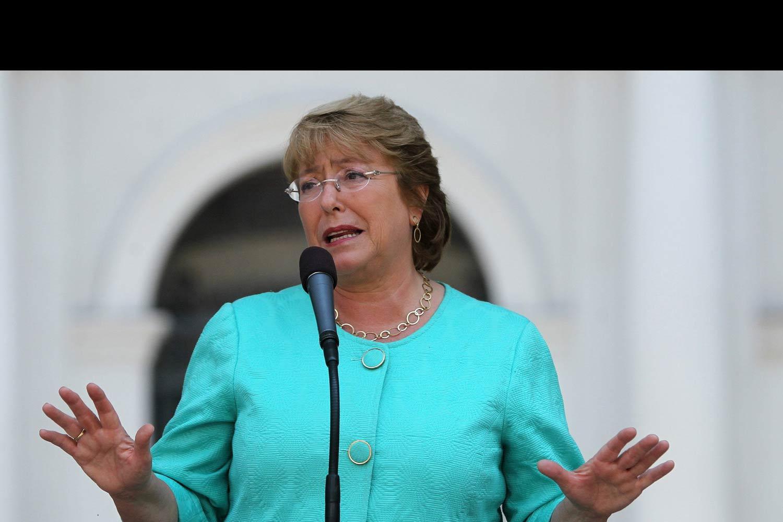"""""""La soberanía en nuestro país no está en juego de ninguna manera"""", dijo Michelle Bachelet"""