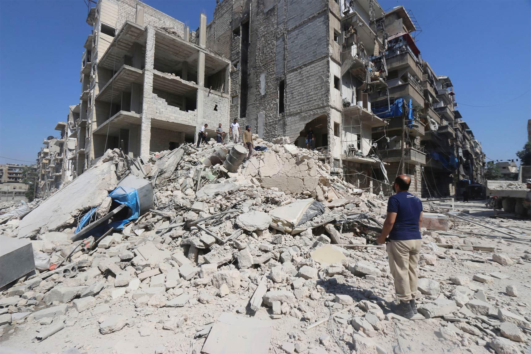 Ataque contra el EI deja 21 civiles muertos