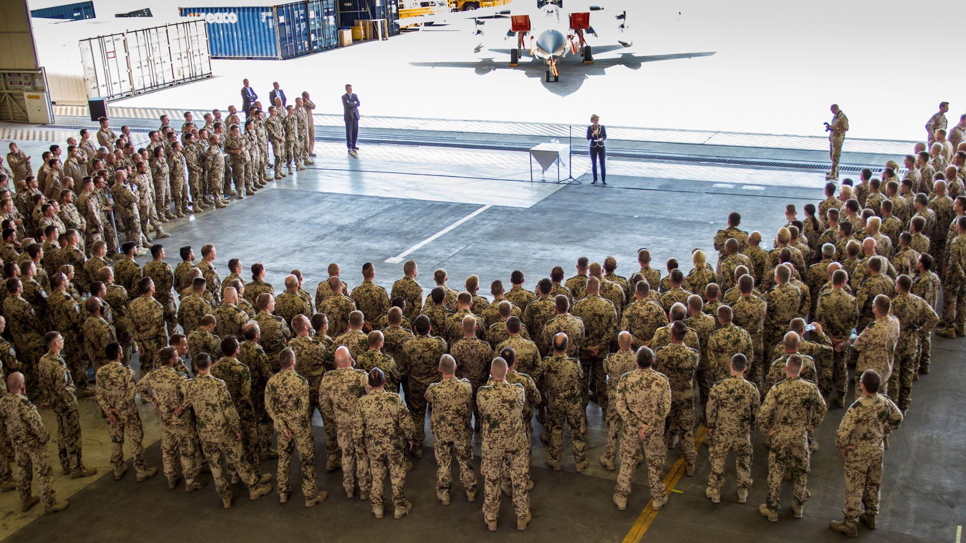 Alemania continua en la lucha antiterrorista