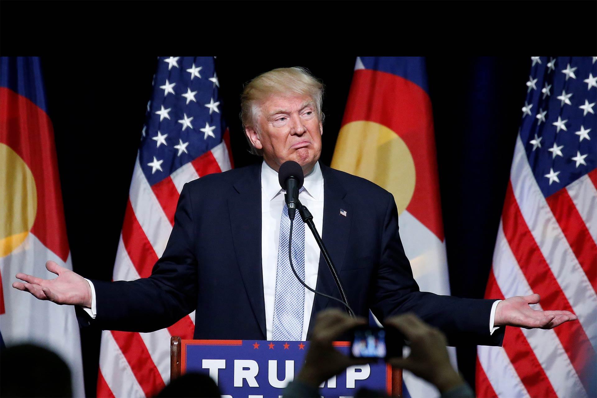 Trump envuelto en una nueva polémica