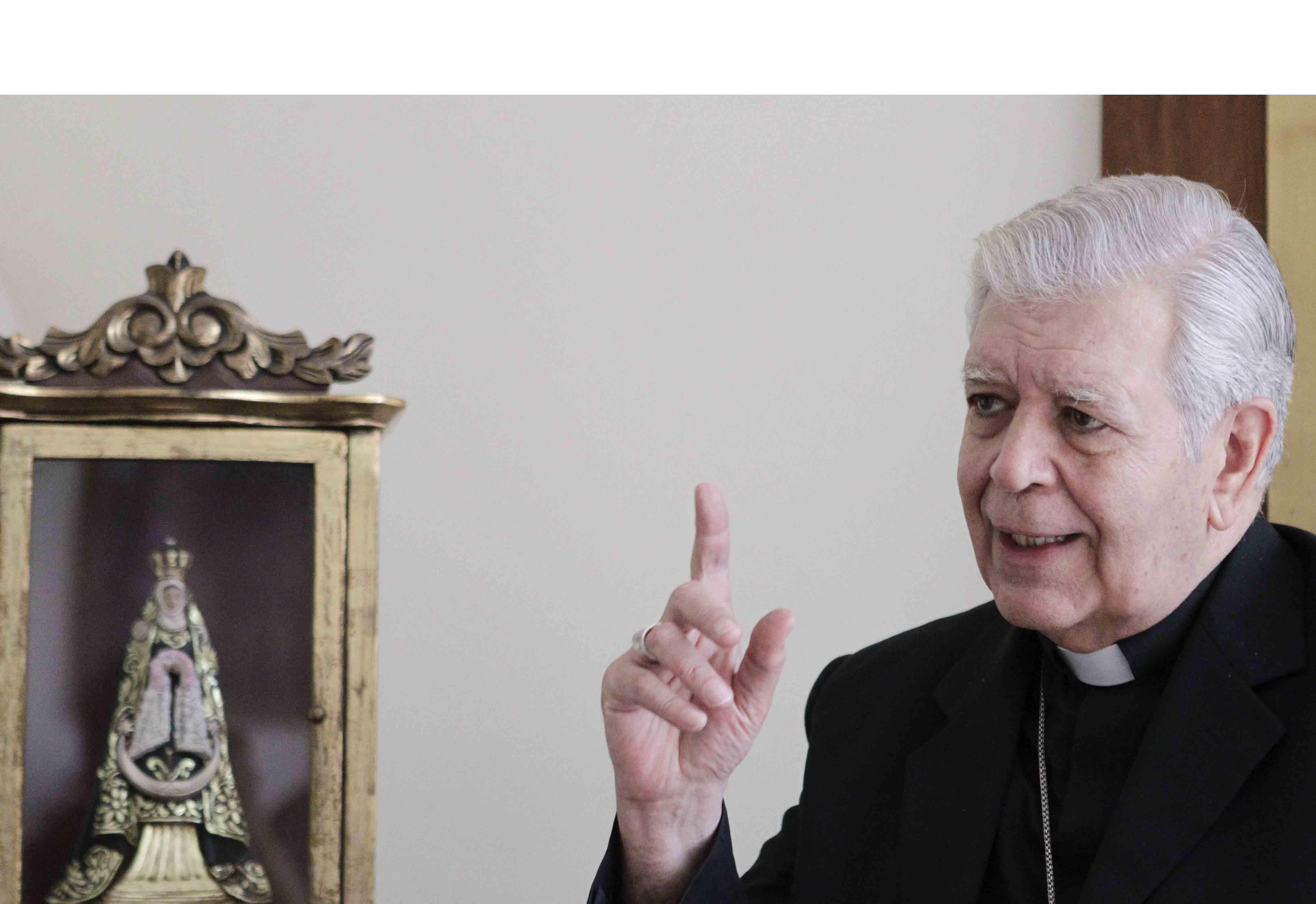 El arzobispo de Caracas indicó que el diálogo en Venezuela debe darse pero que era necesario el referendo revocatorio