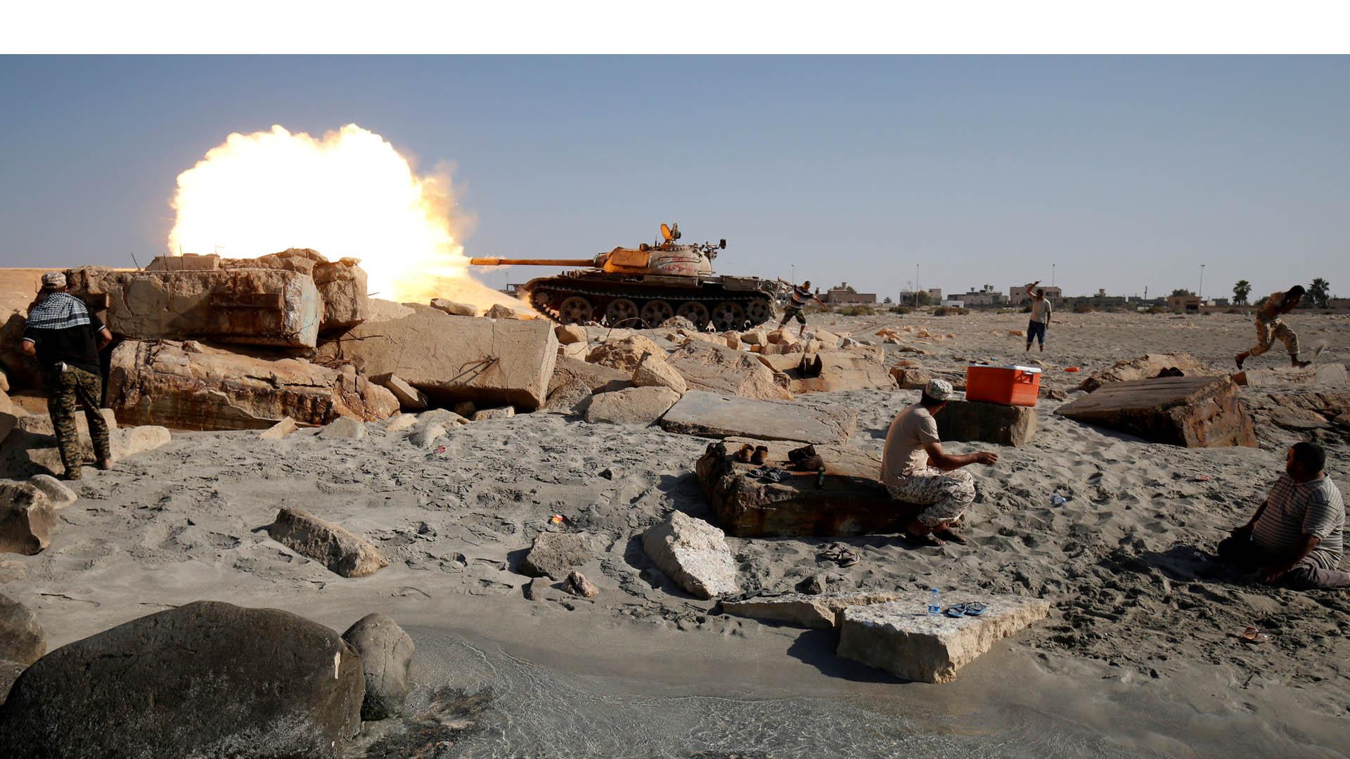 Con el apoyo de la ONU las fuerzas leales continúan los enfrentamientos en el territorio dominado por el Estado Islámico