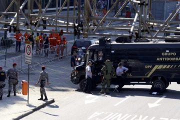 Las autoridades hallaron un paquete sospechoso y luego se produjo la detonación