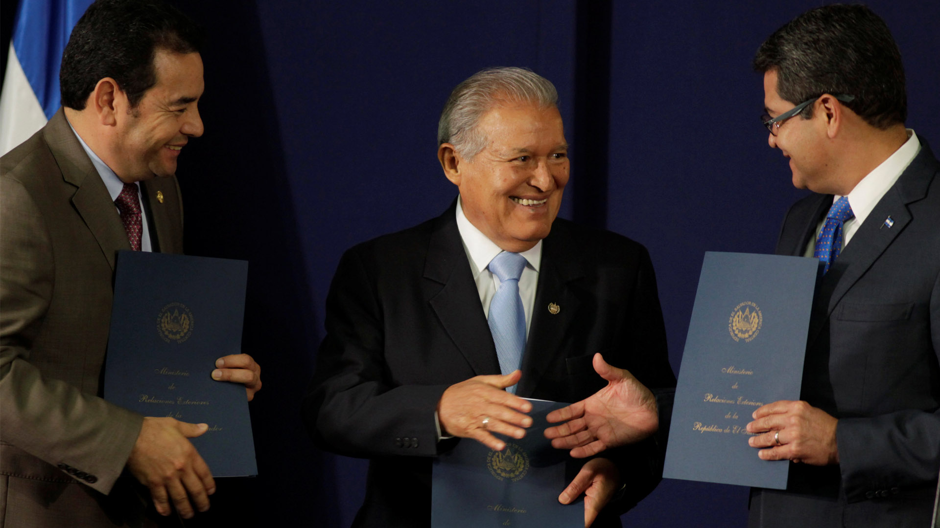 Honduras, Nicaragua y El Salvador acordaron la creación de una Fuerza Trinacional para luchar contra el crimen organizado
