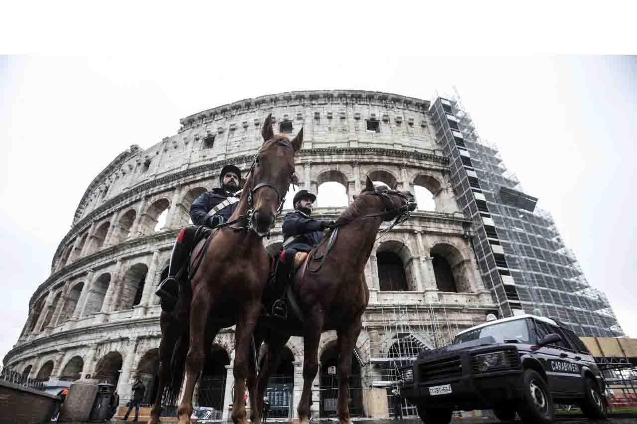 Los controles deben garantizar la máxima seguridad, para turistas y locales que circulen por el Coliseo y el Vticano
