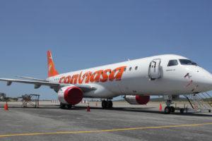 La aerolinea estatal activó los vuelos a Santo Domingo, ruta que no atendía desde hace casi un año