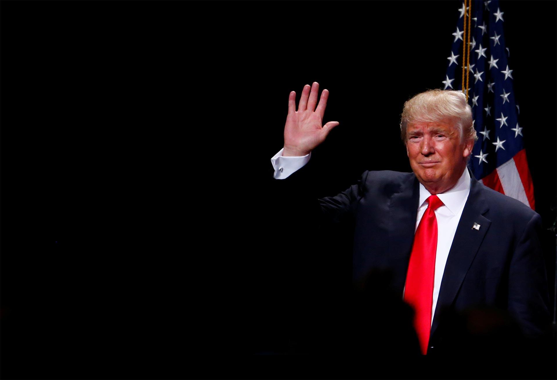 Trump presentó su plan económico