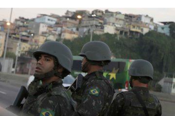 Tras un enfrentamiento en una de las favelas el miércoles fue herido gravemente el agente quien fallecio en horas de la noche del jueves