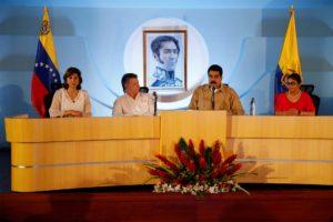 Maduro y Santos hablaron de la frontera