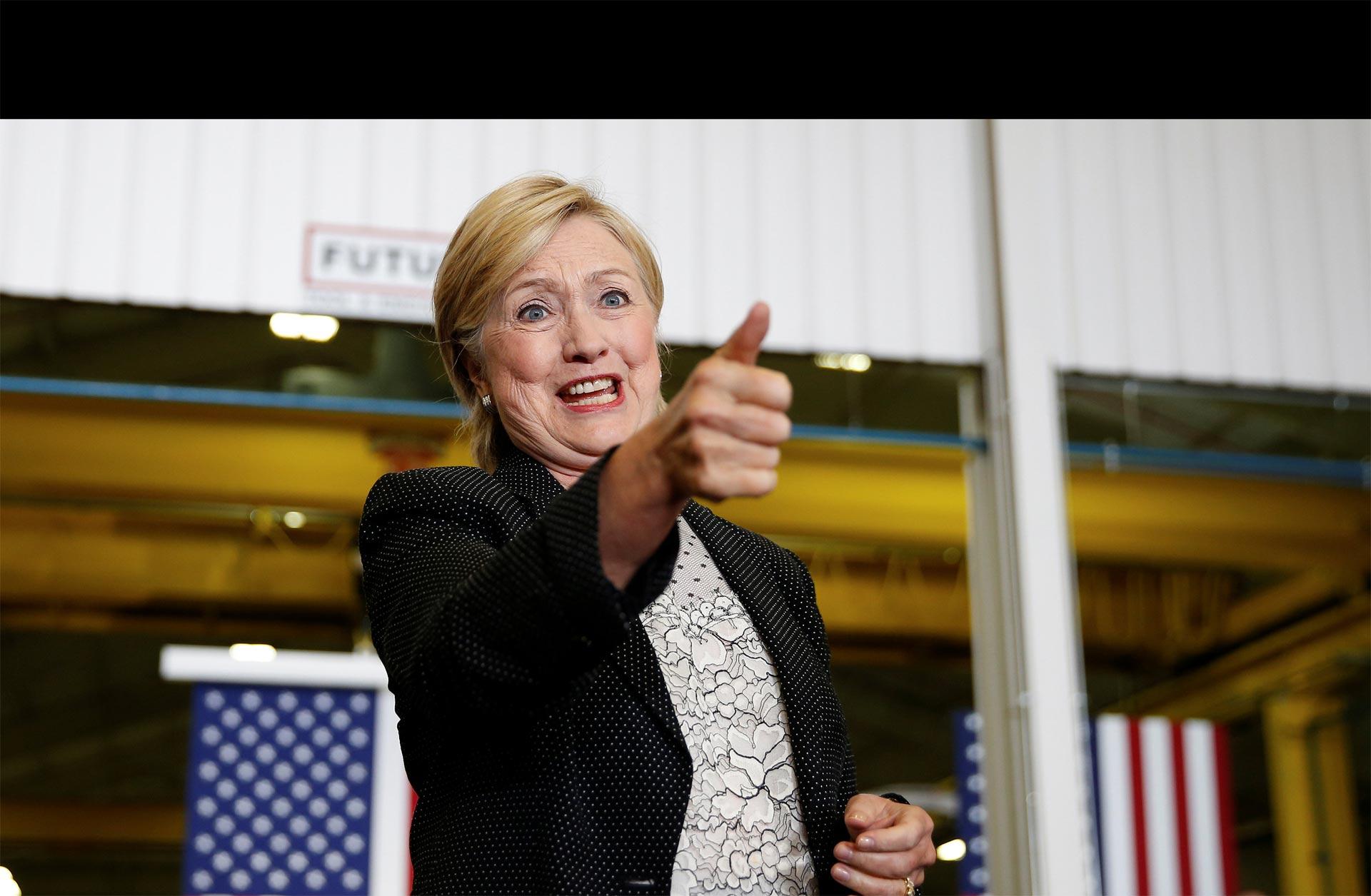 Clinton presentó su plan económico