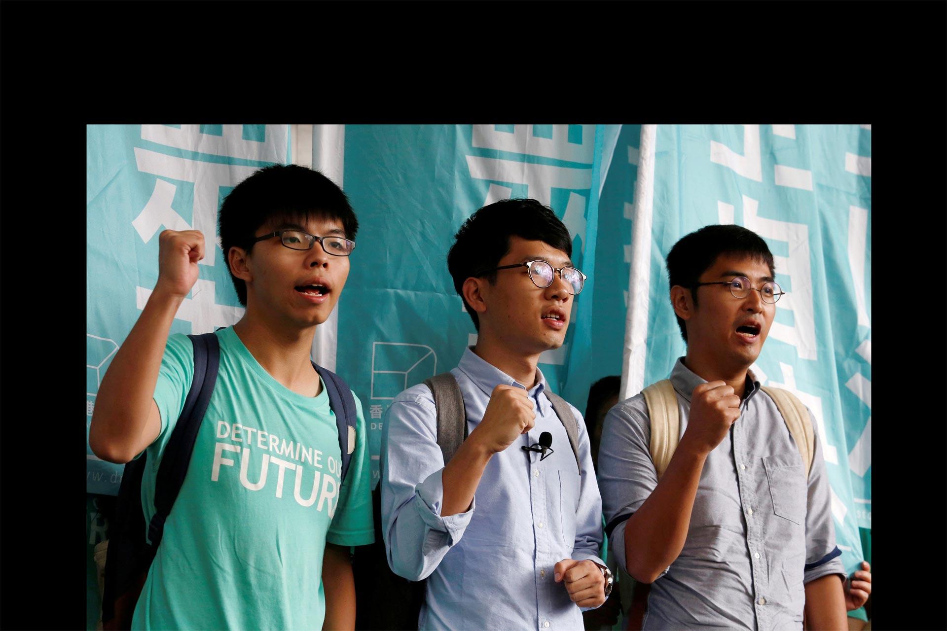 Líderes hongkoneses evaden la cárcel