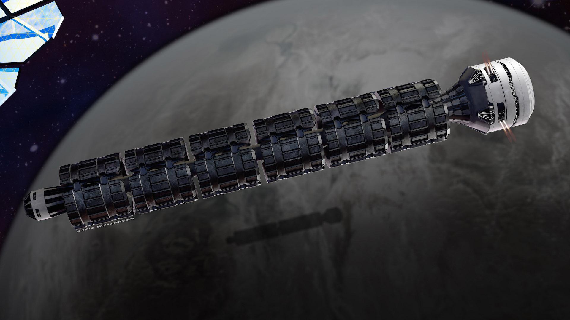 El invento podría transportar humanos a estaciones espaciales y cuerpos celestes