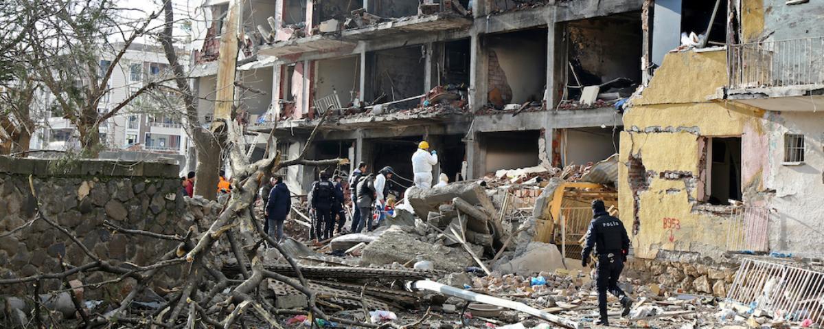 Partido de los Trabajadores del Kurdistán perpetró el ataque que dejó al menos 11 policías muertos y 78 personas heridas