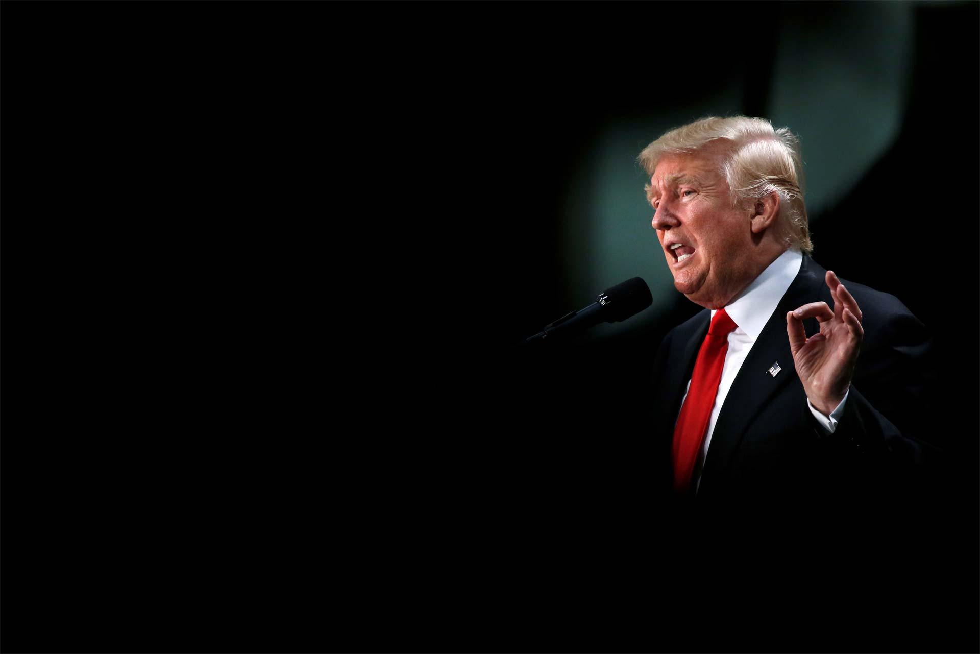 Trump lanza primer anuncia de TV