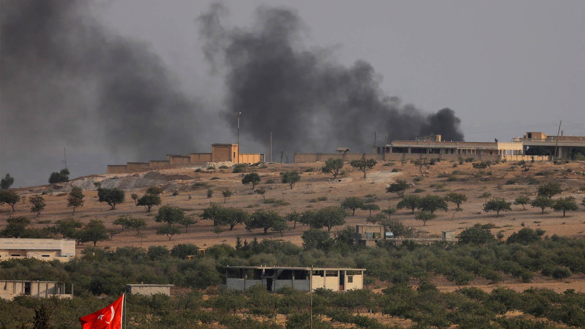 Militares turcos lograron asegurar la frontera sur del país luego de una fuerte ofensiva