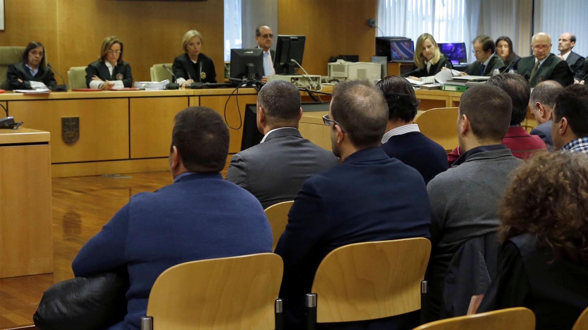 Miguel Ángel Flores y otros tres individuos fueron sentenciados en vista de la avalancha de gente que acabo con la vida de cuatro jóvenes en Madrid