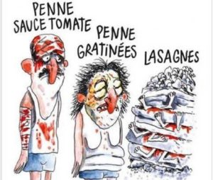 "Caricatura ""Terremoto al estilo Italiano"""