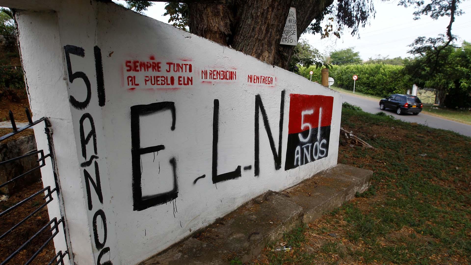 El ente afirmó que el Ejército de Liberación Nacional se ha movilizado a territorios que estaban ocupados por las FARC