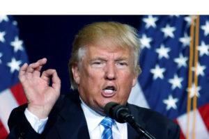 El candidato republicano dejo claro tras su presentación en Arizona que los indocumentados deberán volver a su país y México deberá pagar el muro