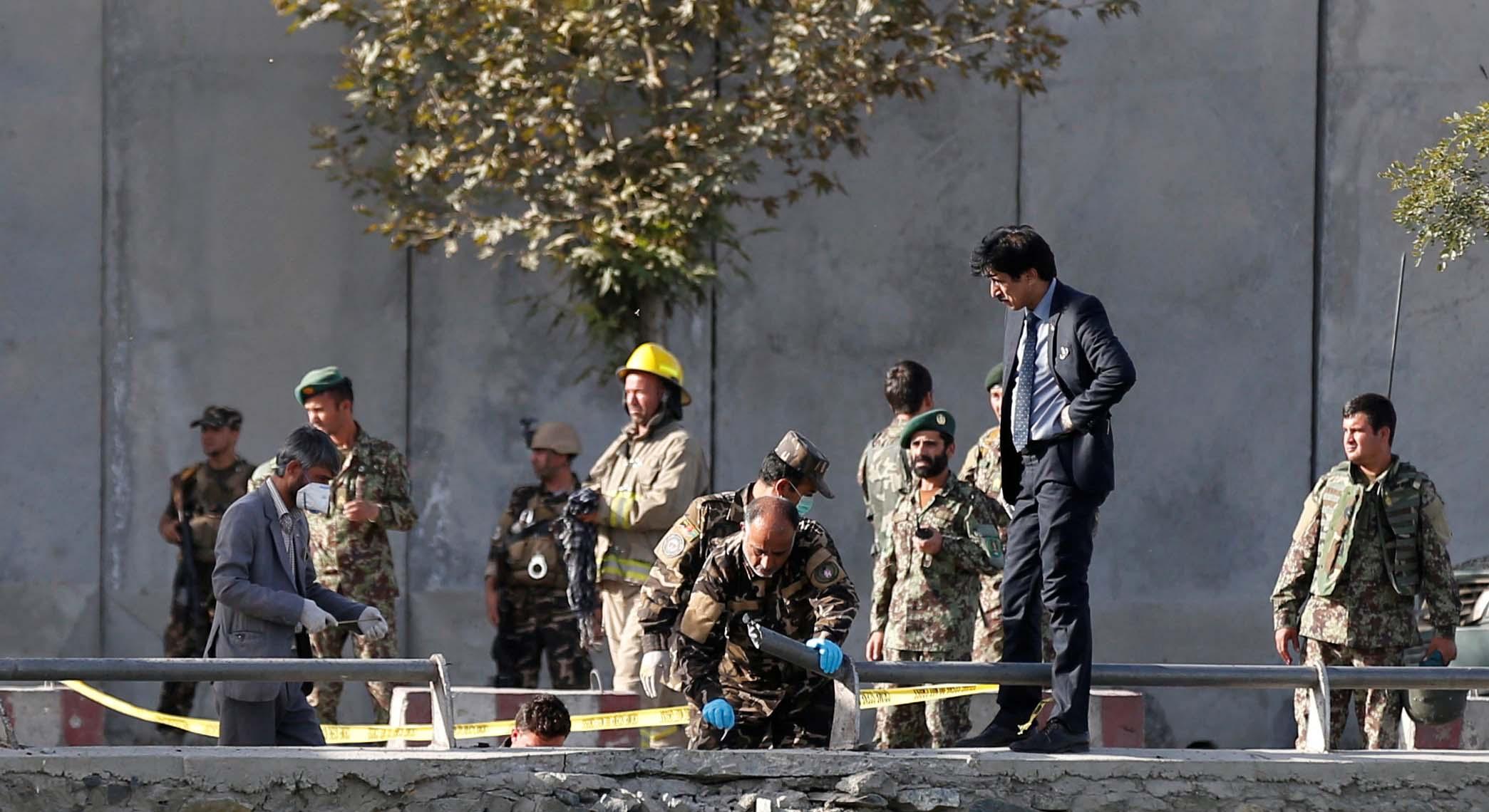 Los insurgentes lograron acceder a la sala de cirugías del Hospital, donde tuvo lugar un enfrentamiento con las tropas afganas
