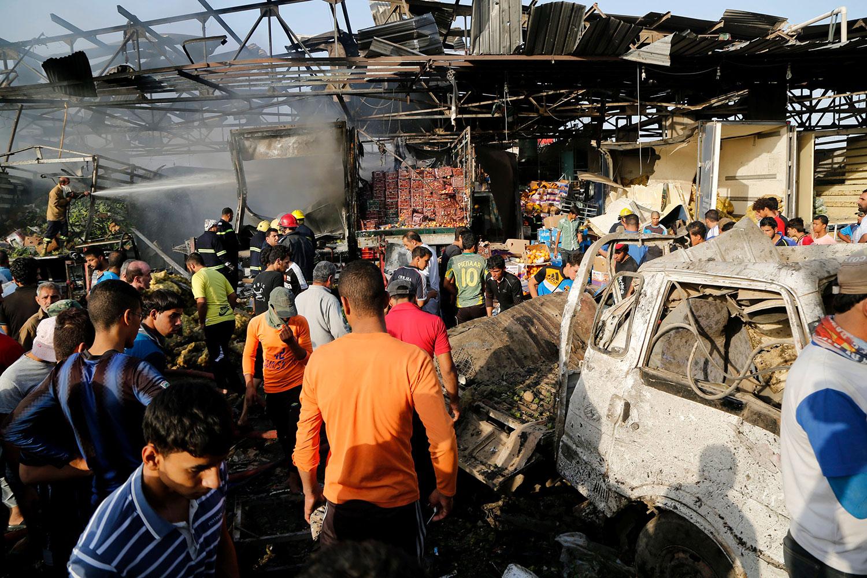 El grupo terrorista se atribuyó las acciones que dejaron al menos 22 personas fallecidas y 65 heridas