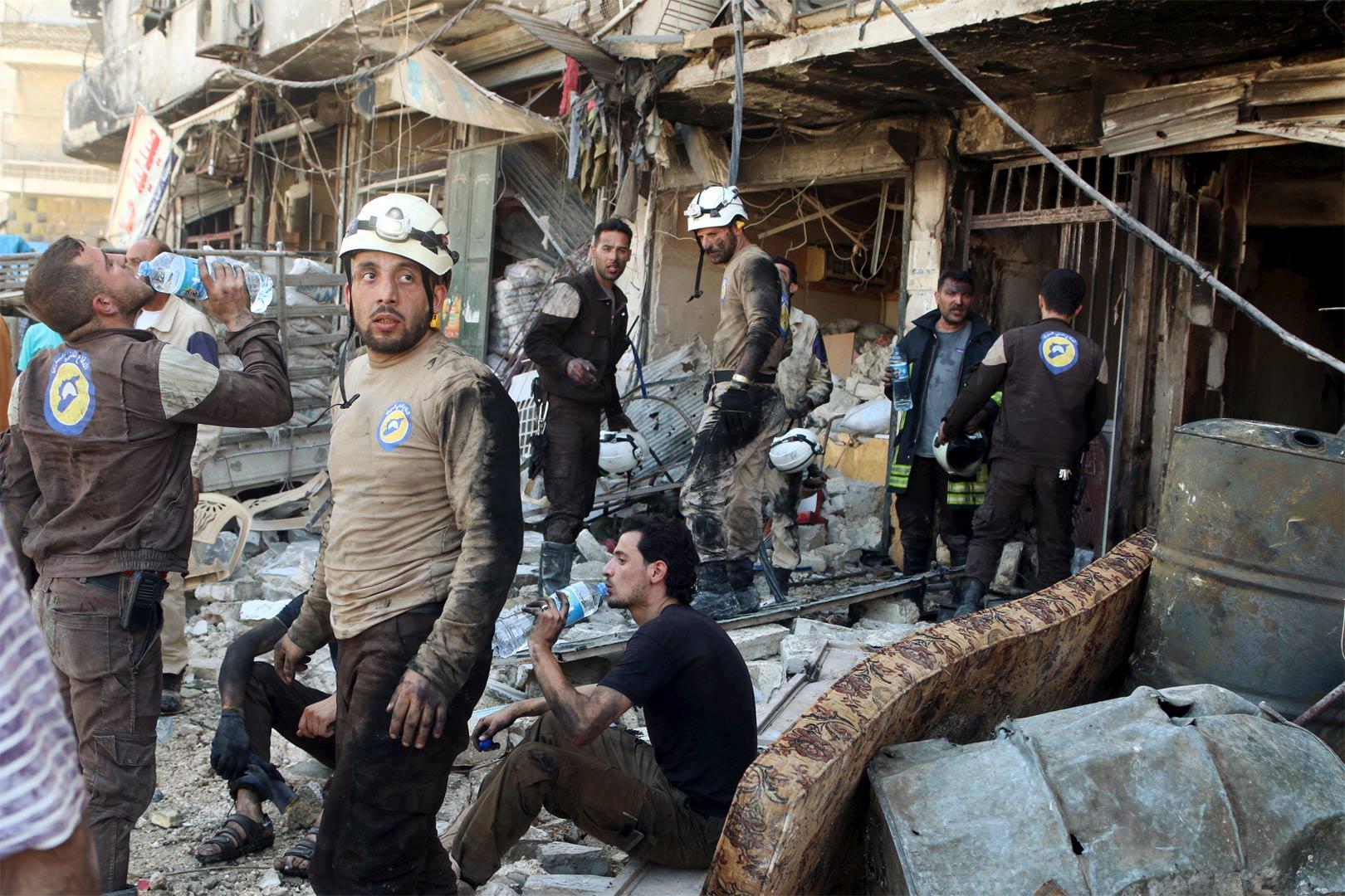 Guerra civil en Siria: muertos por doquier