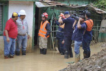 Miles de viviendas afectadas tras lluvias en Táchira