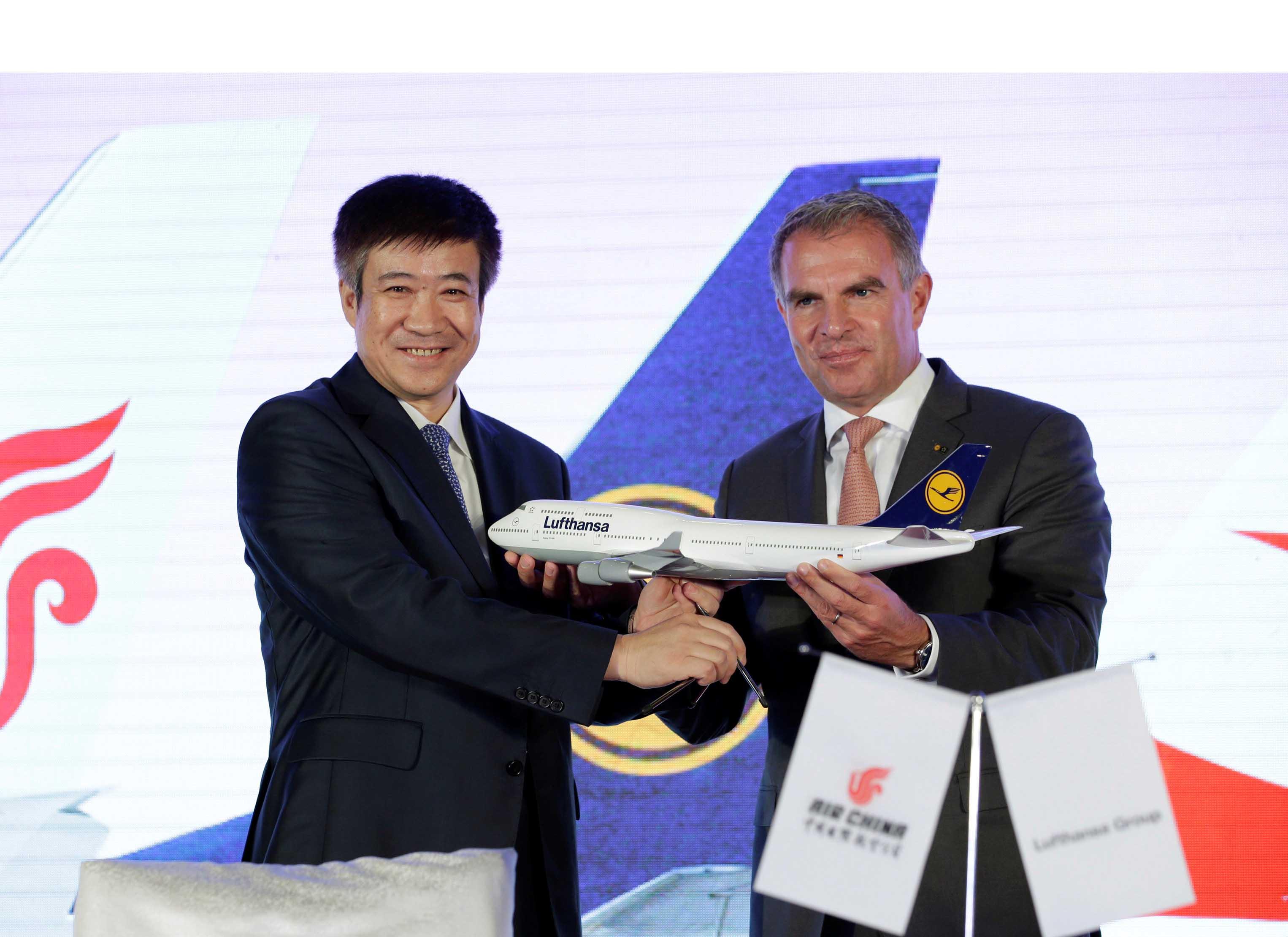 Los representantes de las aerolíneas firmaron un convenio para dar un paso más en sus operaciones conjuntas