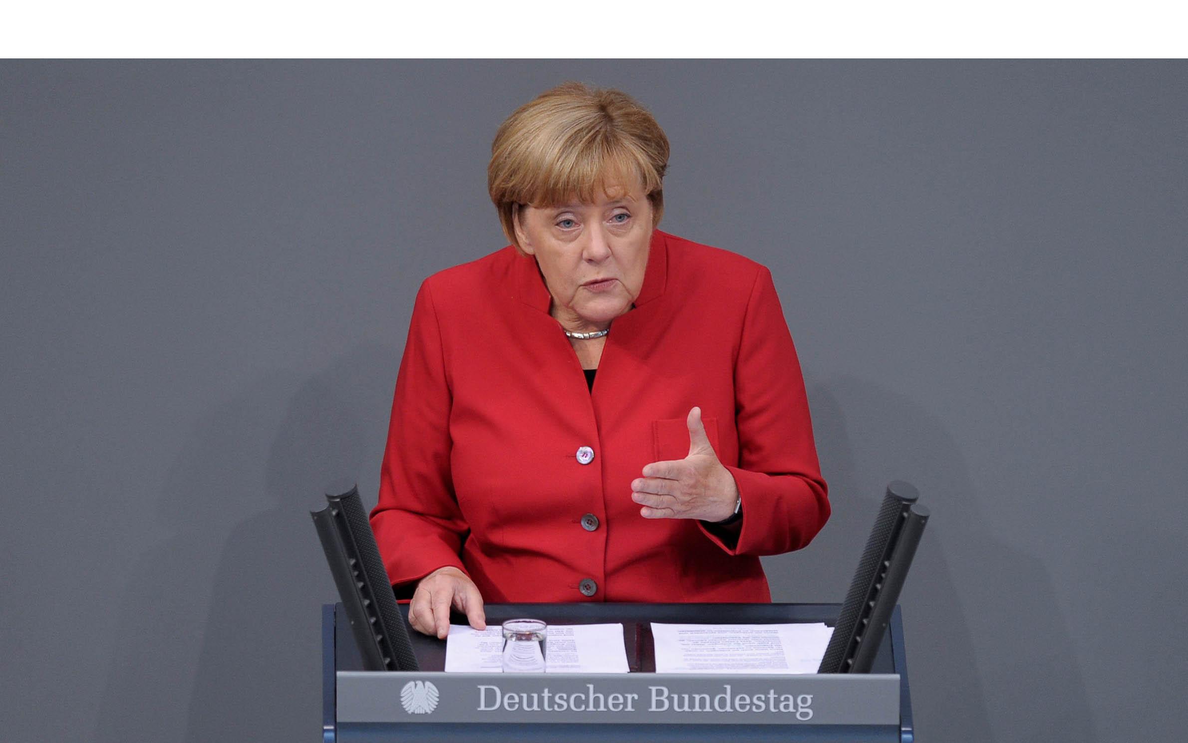 Los integrantes de la Unión Demócrata Cristiana demandaron a la canciller alemana un planteamiento concreto antes de que finalice el mes de octubre