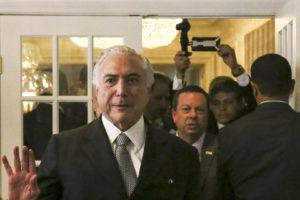 El presidente Temer formalizó la reducción de 32 a 24 carteras ministeriales