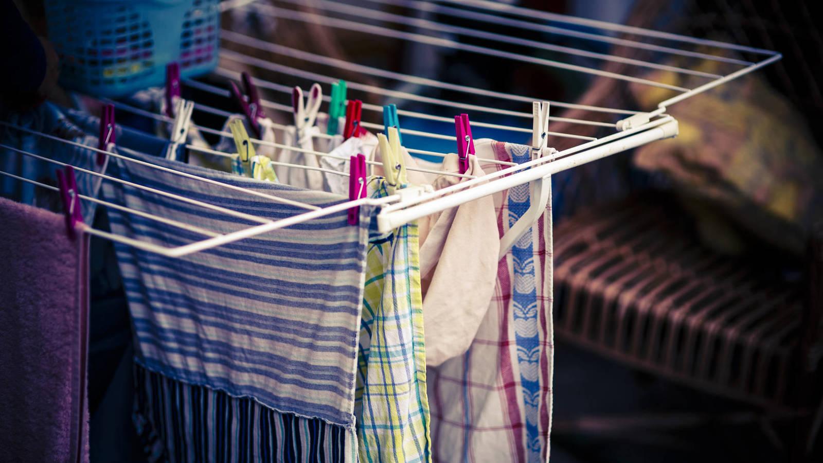 Diferentes estudios determinaron que la humedad causada por las cargas de ropa puede afectar la salud de las personas
