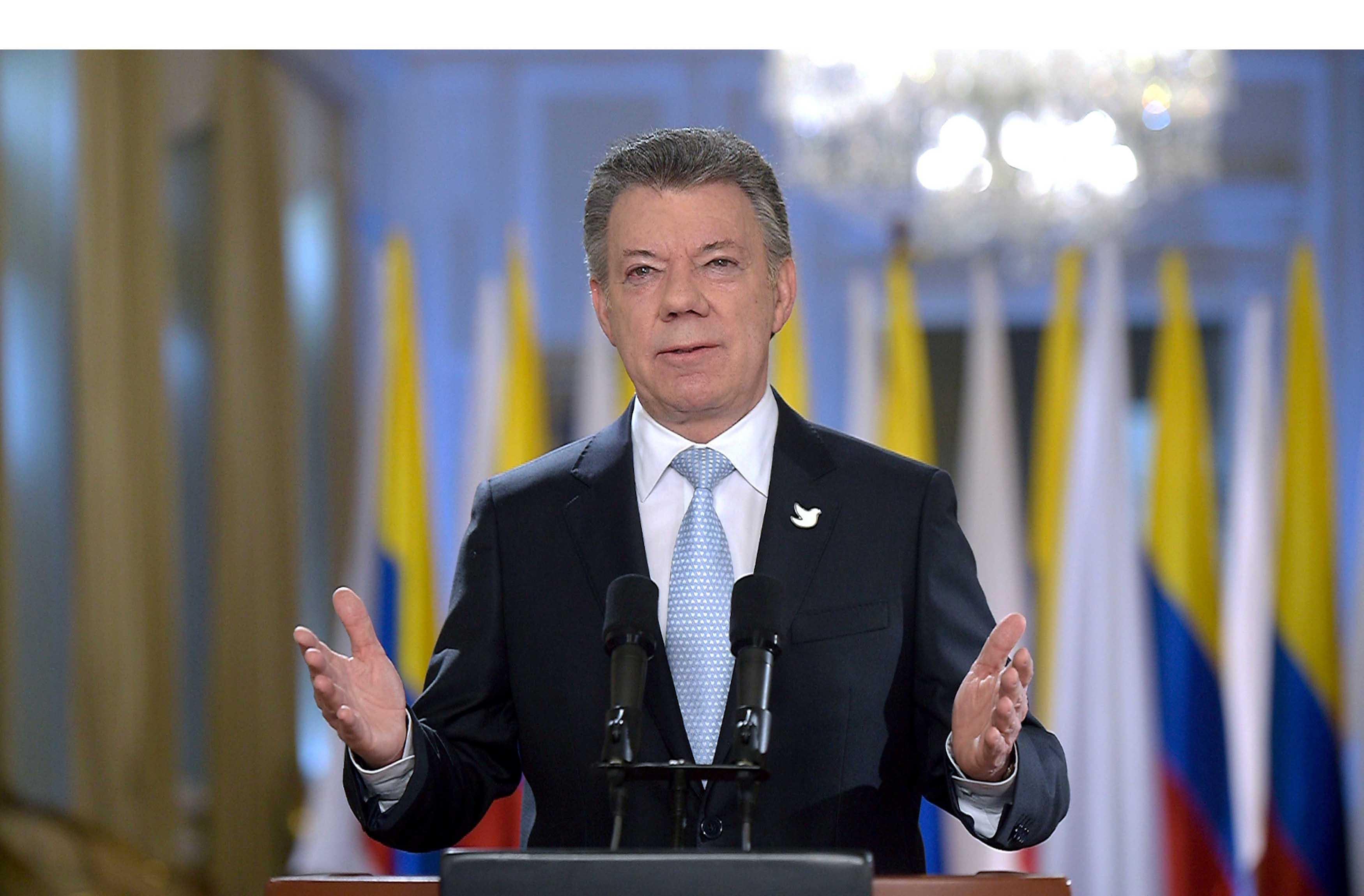 El presidente colombiano se mostró complacido al indicar que durante la primera semana del cese al fuego se respetaron los términos y se obtuvo lo esperado