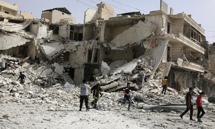 El Observatorio Sirio para los Derechos Humanos informó que este miércoles se presentaron bombardeos en el este de Alepo
