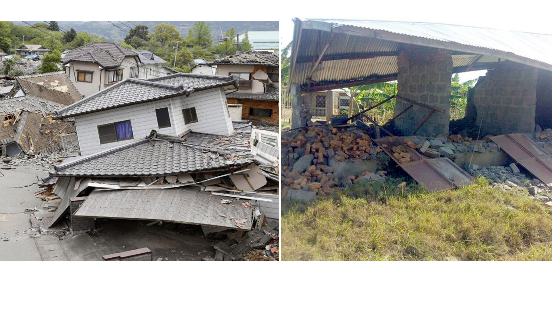 En horas tempranas también se registró un sismo en Perú ocasionando sólo pérdidas materiales
