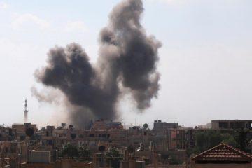 Cuatro ciudades fueron arremetidas lo que dejó un saldo de 53 personas fallecidas, 40 de ellos civiles
