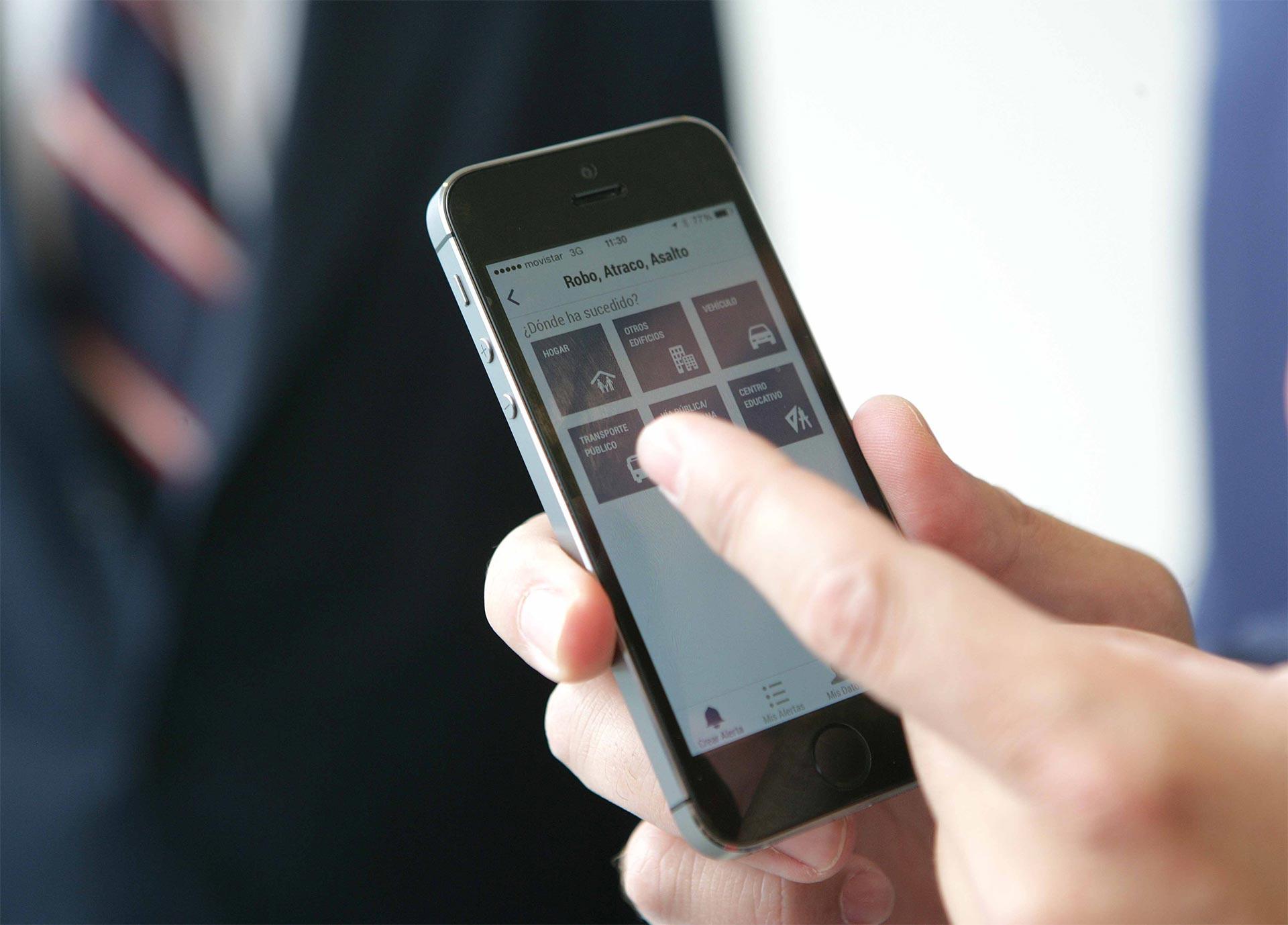 Una app para denunciar crímenes