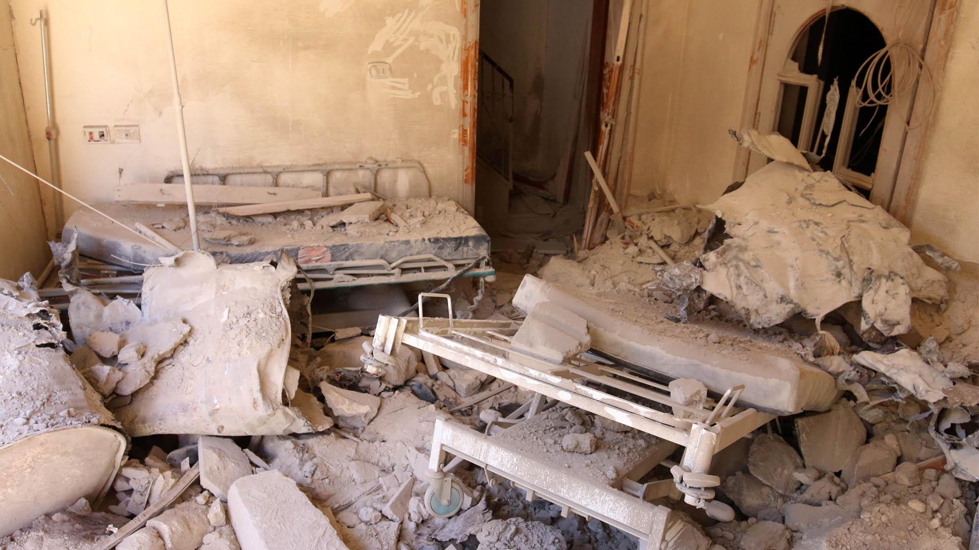 Un ataque en Alepo acabo con la vida de tres obreros que se encontraban reparando las instalaciones