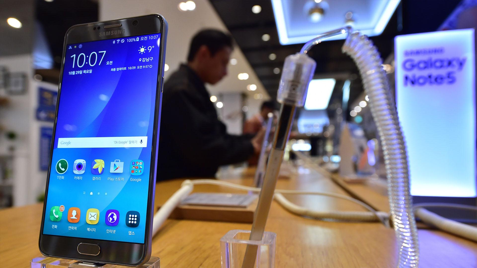 A partir del de octubre estarán disponibles los equipos de Samsung con baterías seguras y probadas