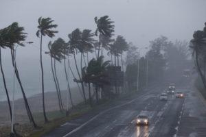 Varias zonas de Santo Domingo, República Dominicana, se han visto afectadas por el paso del huracán