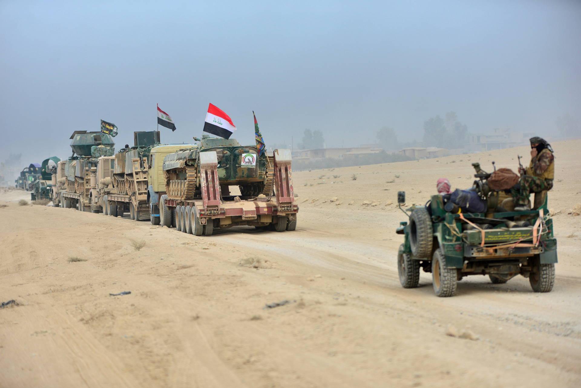 En su intento por expulsar al Estado Islámico, las tropas de élite avanzaron hasta la frontera oriental de la ciudad