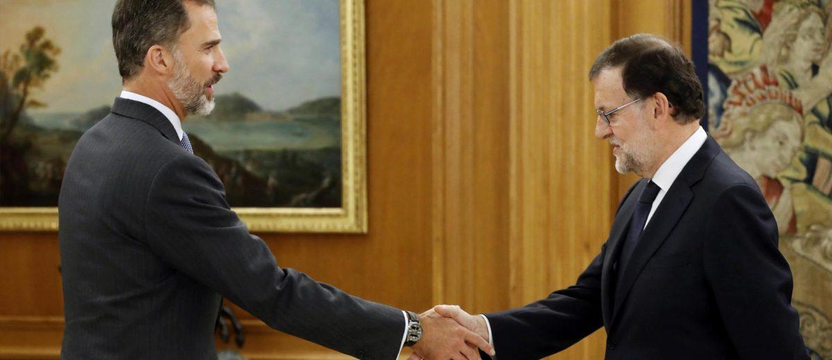 Luego de 10 meses sin un mandatario oficial, Mariano Rajoy será nombrado como nuevo líder político del país