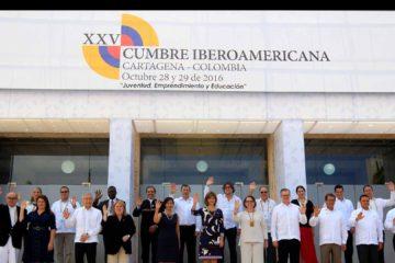 En la XXV Cumbre Iberoamericana de jefes de Estado y de Gobierno los países reconocieron el trabajo hecho por el Gobierno de Colombia