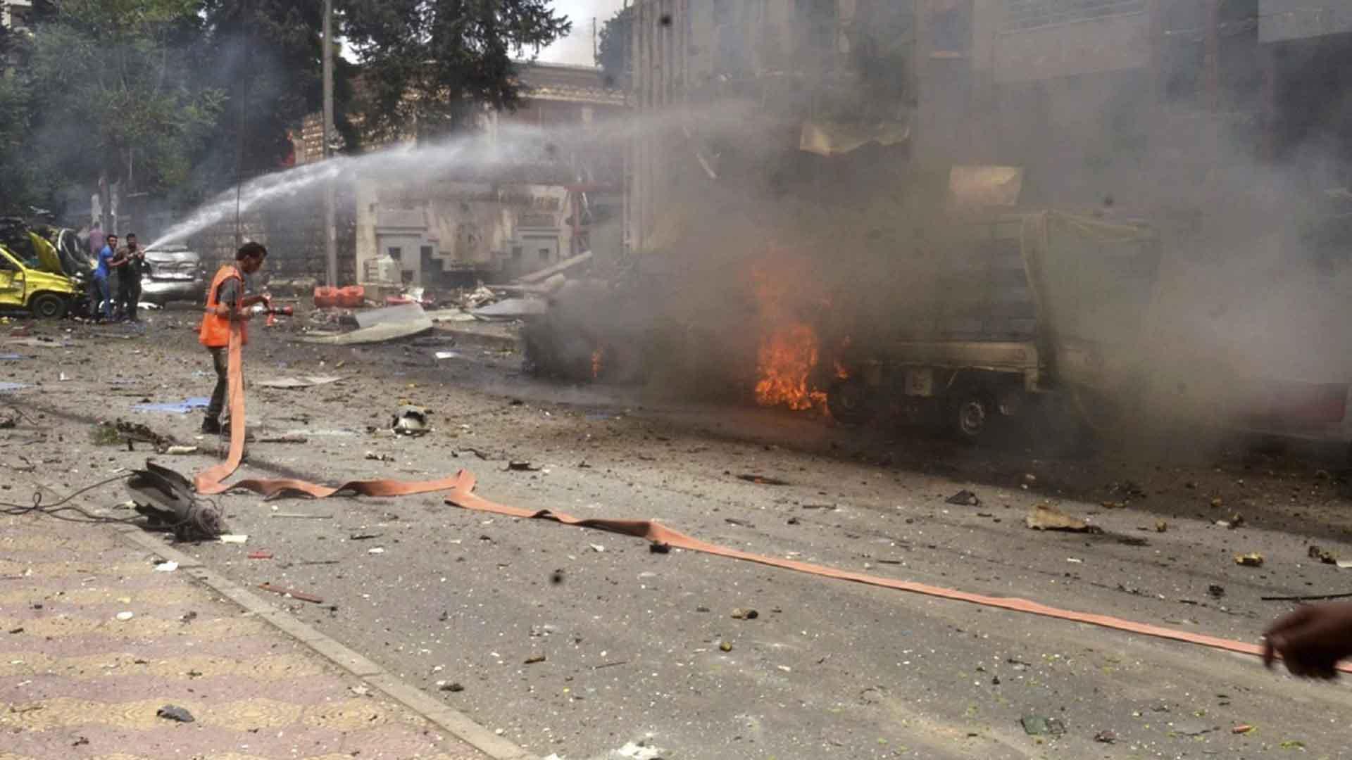 Los bombardeos perpetrados en la zona oriental, tomada por los rebeldes opositores, se realizaron con explosivos antibúnker