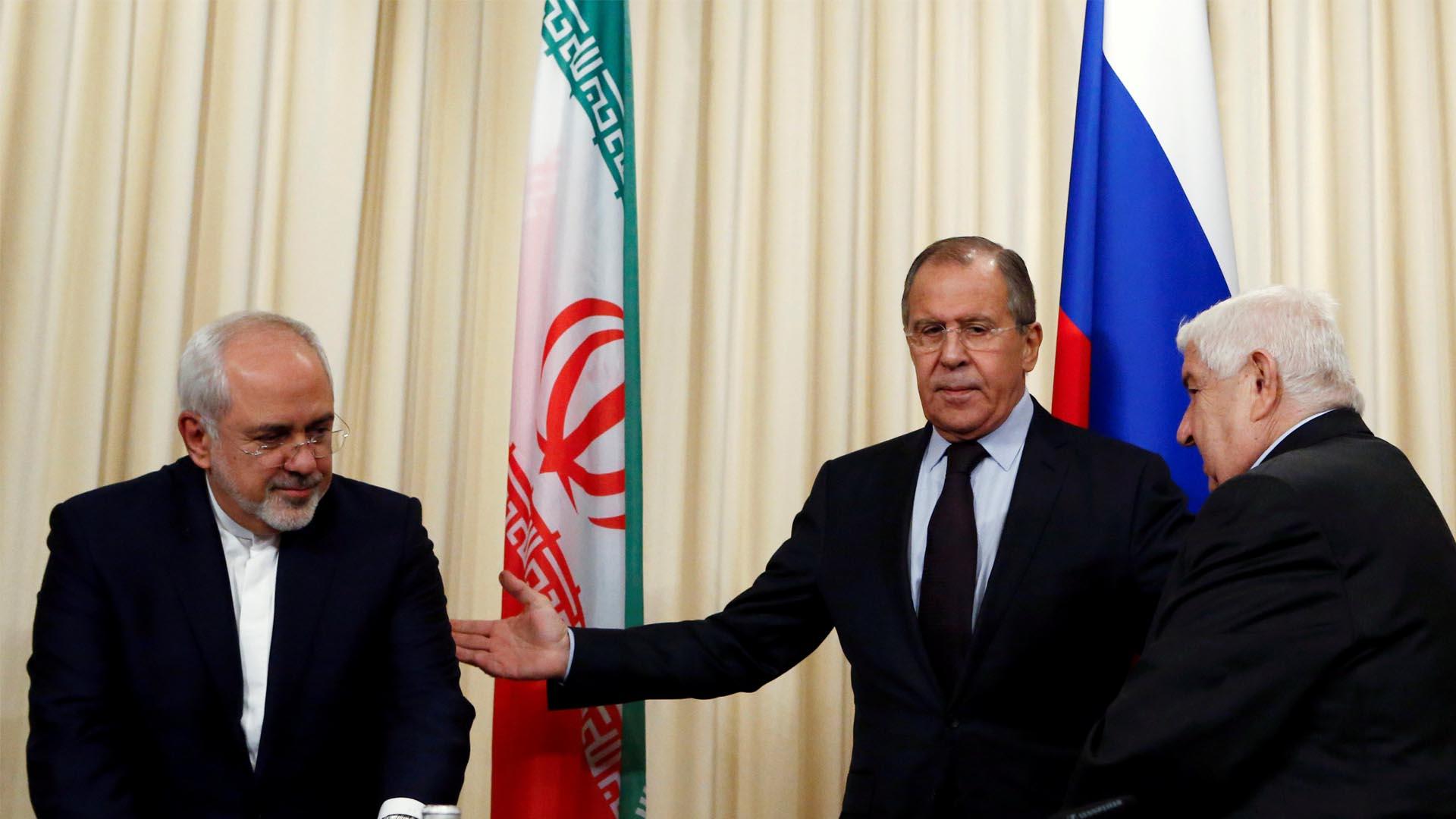 Walid al Muallem, ministro de Relaciones Exteriores, hizo esta afirmación durante el encuentro con sus homólogos de Rusia e Irán