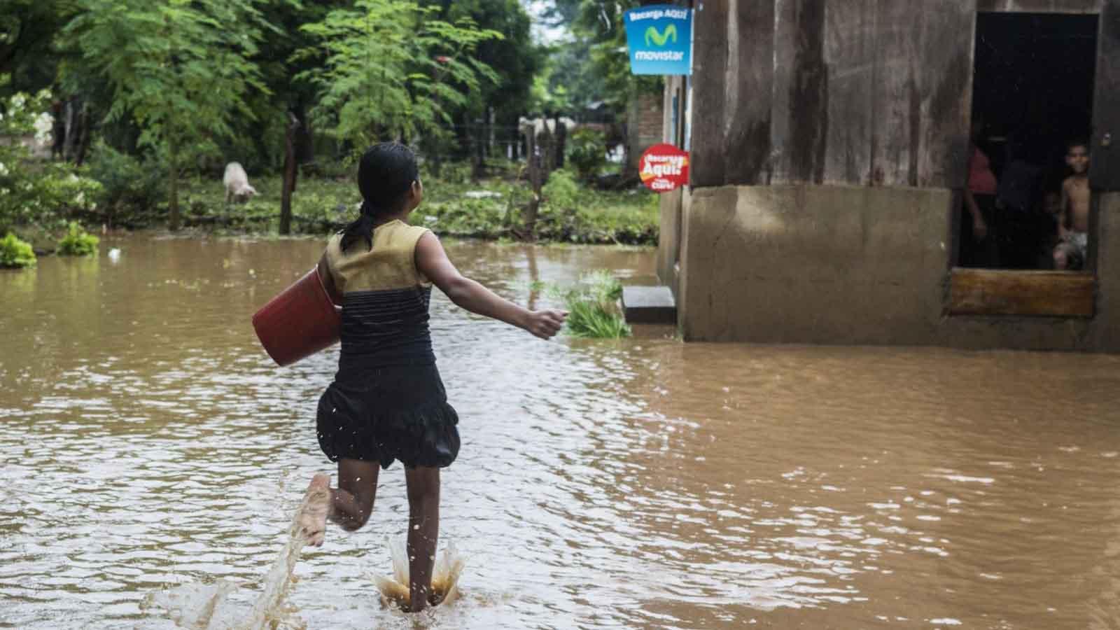 Inundaciones en Nicaragua dejan un muerto