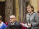 La fiscalía considera que la presidenta del Parlamento, Carme Forcadell desobedeció al Tribunal Constitucional
