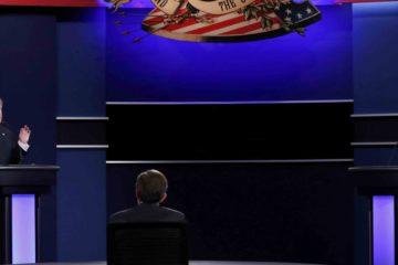El candidato republicano se negó a responder si aceptaría la derrota en los comicios si Clinton sale ganadora