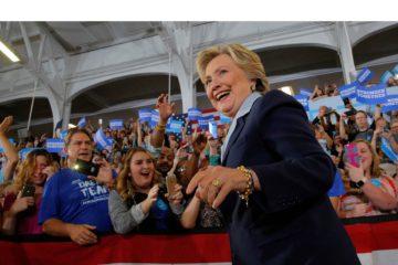 La candidata demócrata luego del debate aumento su confianza en algunas personas aumentando su porcentaje sobre el republicano