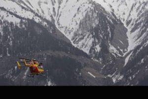 Los rescatistas tardaron ocho horas en llegar al lugar donde se estrelló el helicóptero